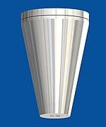 Deckenbefestiger Kegel, mit Deckenplatte M6i