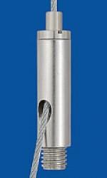 Drahtseilhalter Typ 18ZW M8x7 o.R.