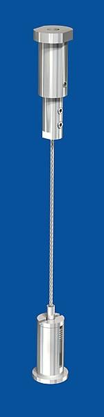 Spannset Typ 15 M10x6A Seil-ø: 1,5mm