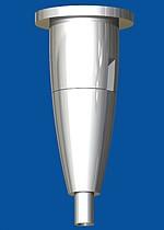 Deckenbefestiger Typ 15 ZW Ellipse, mit Deckenplatte M6i