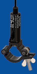 Drahtseilhalter Typ 66 SV III ZW mit Doughty half coupler slim line Für Rohrdurchmesser 48mm-51mm