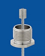 Screw cap M13x1 with bore3,5mm, SW 14