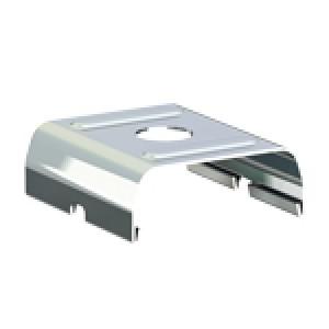 Edelstahl Blechklammer 30x28,1x10,7 mm mit Bohrung 4,2 mm