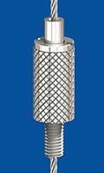 Holder type 18 M5x10, knurled