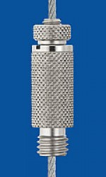 Holder type 18V M8x5, knurled