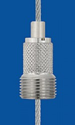 Holder type 18 M13x8, knurled