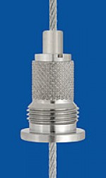 Holder type 18  M13x4B, knurled