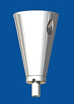 Ceiling attachment  type 15 ZW cone, without  ceiling plate