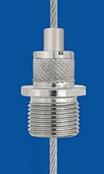 Holder type 18 M13x8 A, knurled