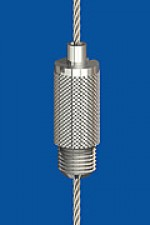 Holder type 15 M8x7, knurled