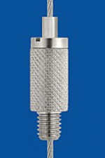 Holder type 15 M6x7, knurled