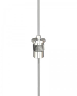 Isolierhalter Typ 15 für Niedervolt Für ummantelte Seile ø 1,0mm - 1,5mm