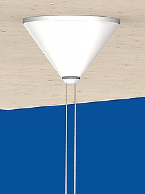 Canopy Cone, white - RAL 9010