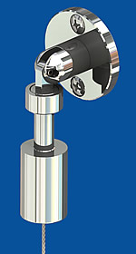 Hinged tensioner Cylinder