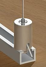 Halter für Schiene Zylinder