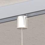 Flex-Schienenbefestiger Zylinder ø 13mm, vernickelt Für Seil ø 1,0mm - 2,5mm